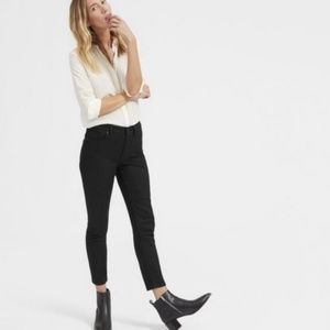 Everlane Black High Rise Ankle Skinny Jean